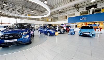 Automotive Dealerships 3D Model